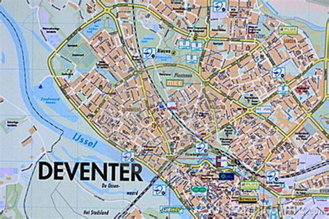 deventer netherlands map road map deventer royalty free stock photos image 17488618