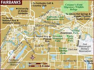 Fairbanks Alaska Map by Map Of Fairbanks