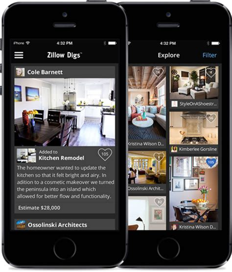 zillow design app new app zillow digs for iphone zillow groupzillow group