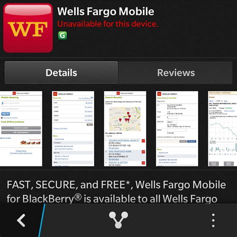 fargo app for android fargo app blackberry forums at crackberry