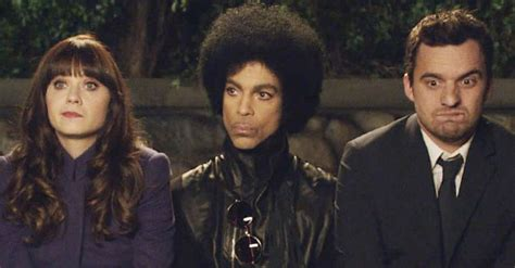 zooey deschanel on prince watch prince on new girl stereogum