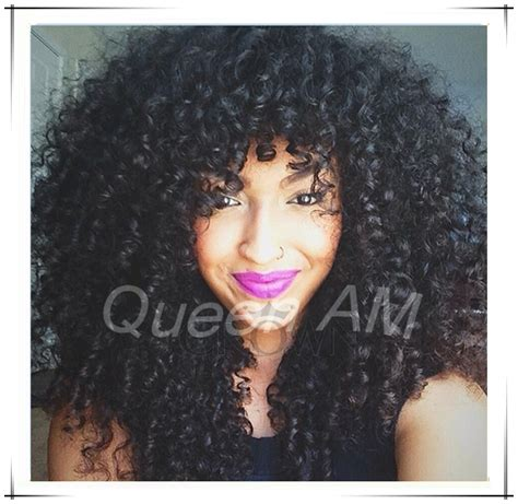 curly hair chinese bang black women 2014 new brazilian glueless lace front afro kinky curly
