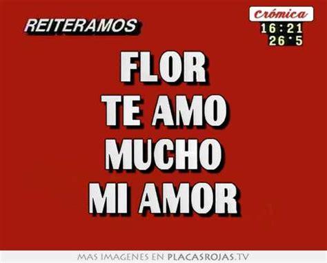 Imagenes Te Amo Flor | flor te amo mucho mi amor placas rojas tv
