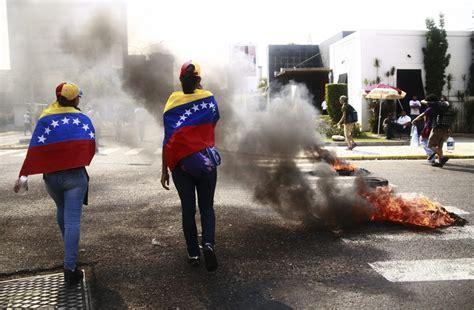 imagenes de protestas en venezuela hoy as 237 recuerdan el primer a 241 o de las protestas en venezuela