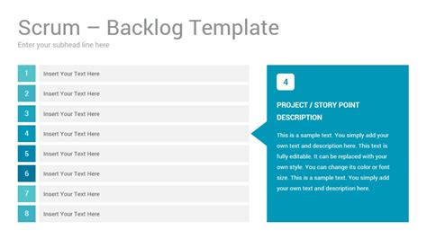 product backlog template scrum process slides presentation template slidesalad