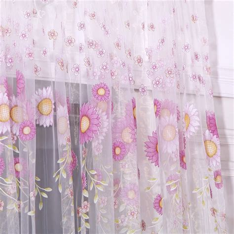 sunflower curtain popular sunflower curtains buy cheap sunflower curtains