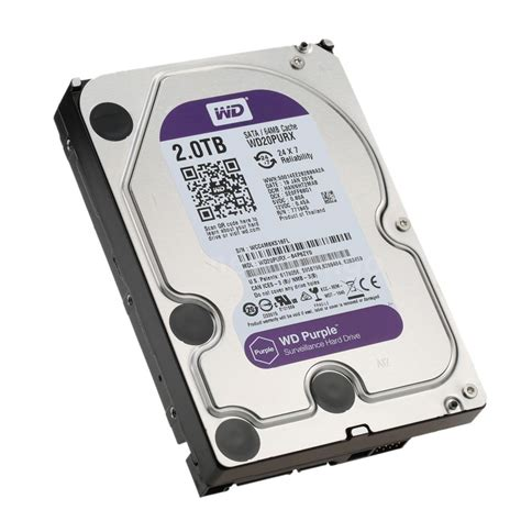 Hardisk Wd 2tb western digital wd purple 2tb disk drive desktop