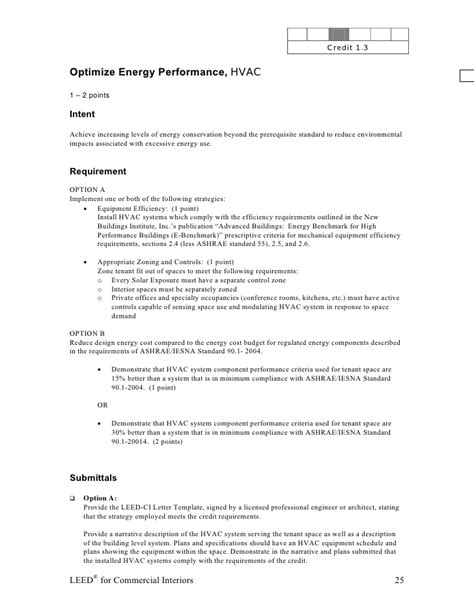 leed letter template leed ci abbreviated manual