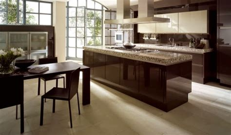 Kitchen Color Idea by Cocinas Integrales Modernas Color Chocolate Colores En Casa