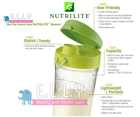 Blender Amway new authentic amway nutrilite protein shaker bottle