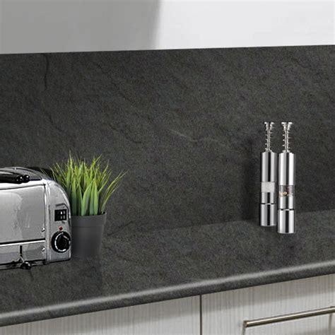 Wilsonart Grey Slate Laminate Splashback   Kitchens InStock