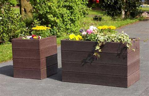 vasi vetroresina da esterno fioriere da esterno in resina fiori idea immagine