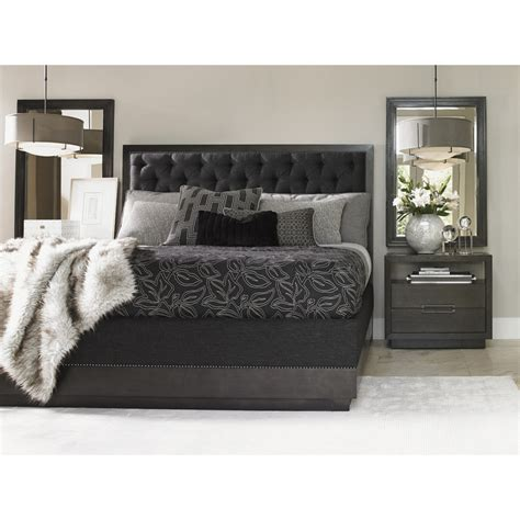 fabric headboard bedroom set lexington furniture 911 135c carrera california king