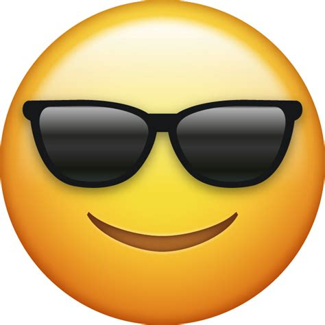 sunglasses cool iphone emoji icon  jpg  ai