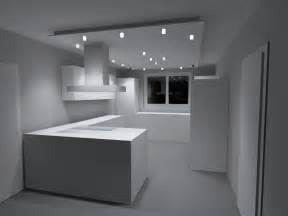 led spots decke led spots mit abgeh 228 ngter decke haus ideen led