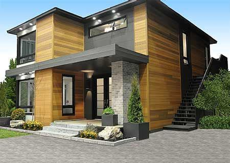 Small House Plans View Lot 25 Best Ideas About Small Modern Houses On