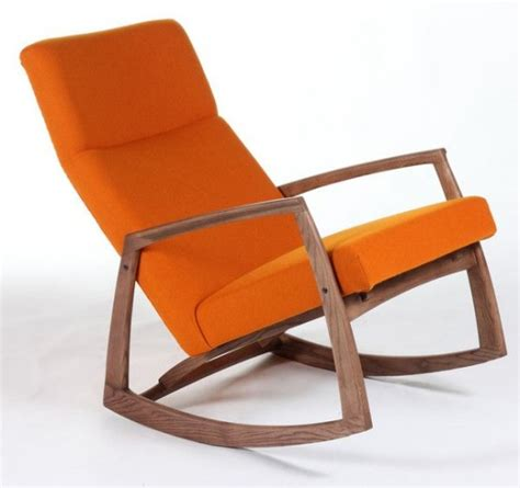 Rocking Accent Chairs by Rocking Chair Design Orange Rocking Chair Cozy Designed