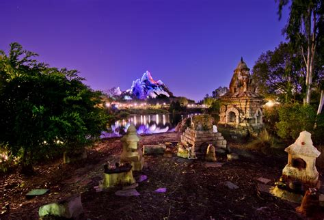 animal kingdom asia nightfall photo disney tourist blog
