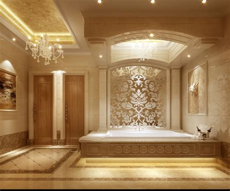 bathroom models bathroom with luxury interior 3d model cgtrader