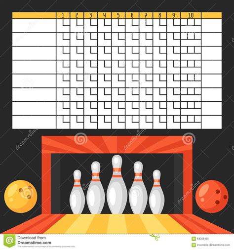 bowling reference card template 28 images of scoreboard blank template to write