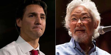Who Is David Suzuki by David Suzuki Says He Called Justin Trudeau A Twerp