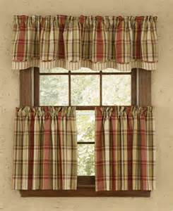 country plaid kitchen curtains country plaid kitchen curtains anns home decor and more