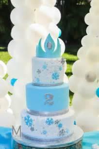 Disney s frozen inspired birthday party with such cute ideas via kara