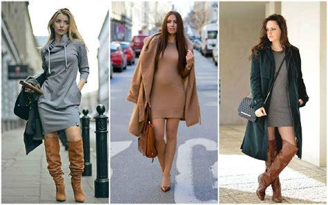 combinar botas timberland outfits combinaciones de moda con faldas vestidos botas