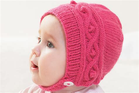 knitting blogs uk free knitted cable bonnet pattern hobbycraft