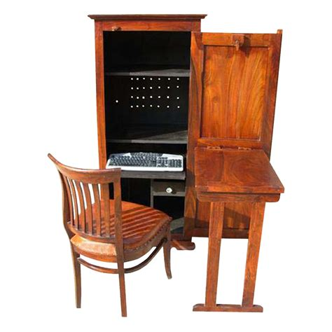 computer cabinet desk solid wood computer hutch desk storage cabinet