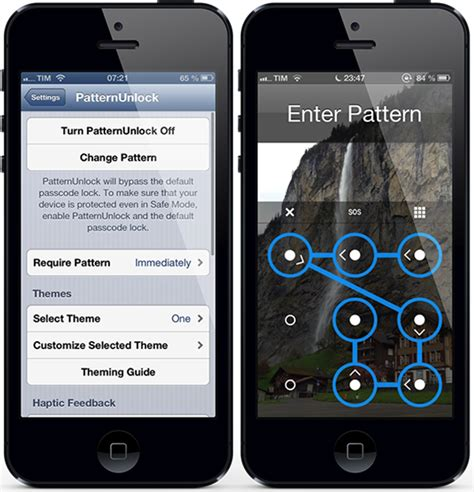 how to enable pattern lock on android phone without any app get improved android pattern unlock on iphone with