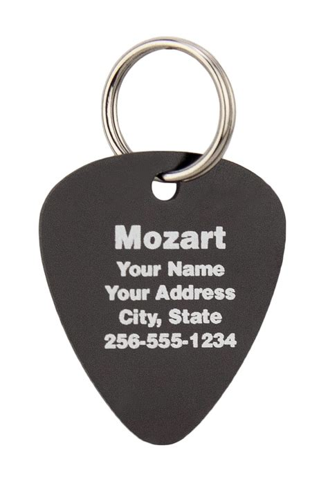 puppy id tags buy pet id tags guitar design