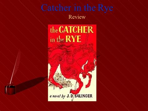 catcher in the rye theme self discovery catcher in the rye