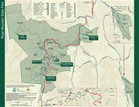 park trail map park trail maps tennessee state parks
