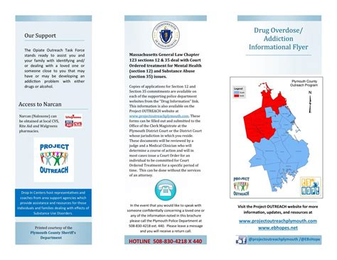 substance abuse brochures spotlight on prescription and