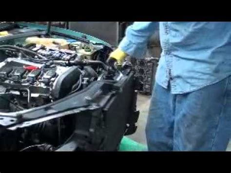 car engine repair manual 2003 audi s6 electronic toll collection vw passatt audi a4 tear down part 1 engine replacement youtube