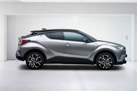 toyota gets funky with the aggressive looking c hr top