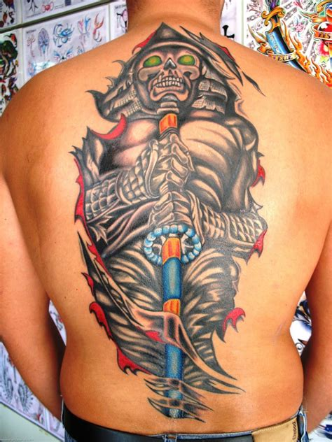 japanese style tattoo samurai tattoos code of bushido japanese designs