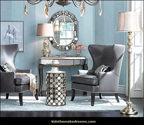 Hollywood Glam Living Room | decorating theme bedrooms maries manor hollywood glam living rooms old hollywood style