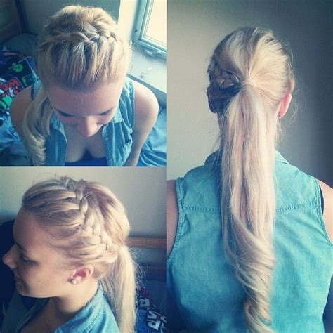 school cheer hairstyles 17 best images about cheer hair styles on