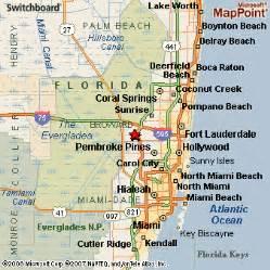 Map Of Weston Florida by Weston Florida