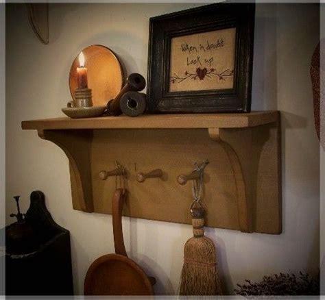 Primitive Shelf Decorating Ideas by Best 20 Primitive Shelves Ideas On Prim Decor