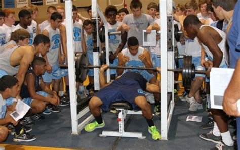 high school bench press 5 fallacies of high school football off season strength