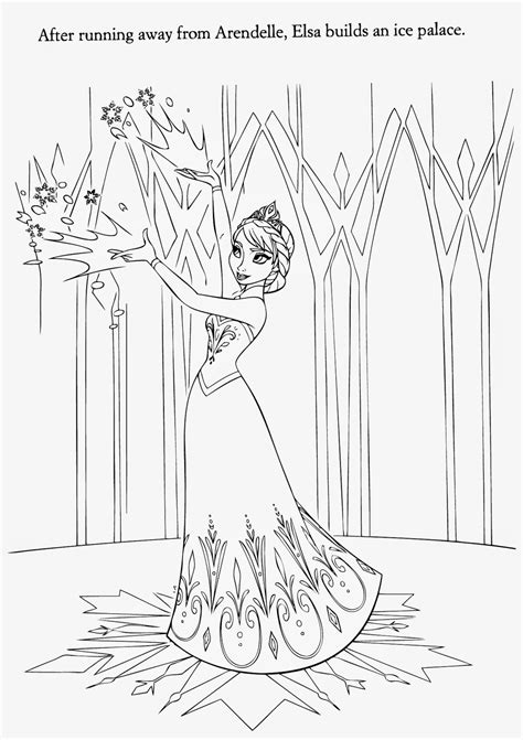 ice castle coloring page 15 beautiful disney frozen coloring pages free instant