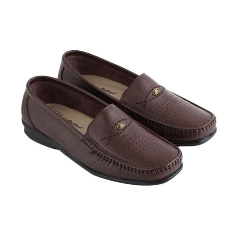 Jk Collection Shoes Coklat jual jk collection jk 5426 sepatu slip on wanita coklat