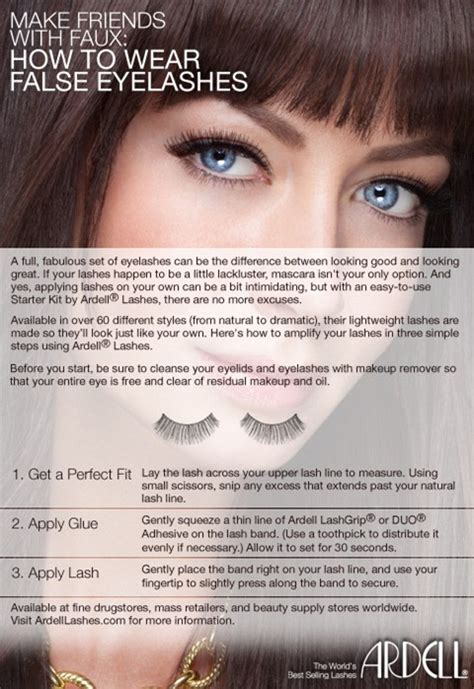 How To Wear False Eyelashes by Ardell Lashes Expertpost Slice Jpg And Fashion Tech