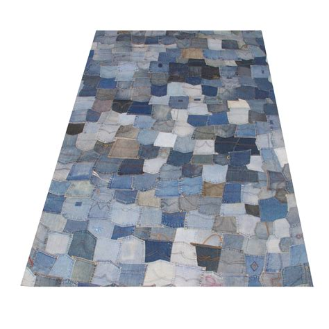 quilted rugs denim quilted rug formdecor