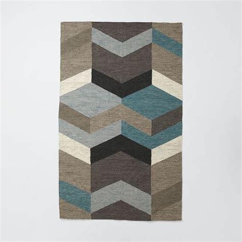 west elm kilim rug mid century geo wool kilim west elm living room runners chang e 3 and wool