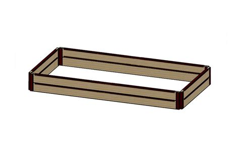 raised bed brackets 12 quot tall 4x8 kit parts list raised bed brackets