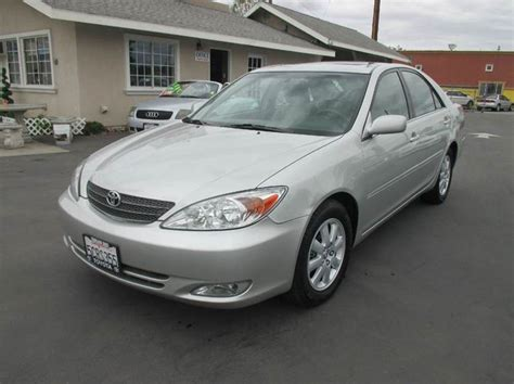 2003 toyota camry xle v6 2003 toyota camry xle v6 4dr sedan in whittier ca valley
